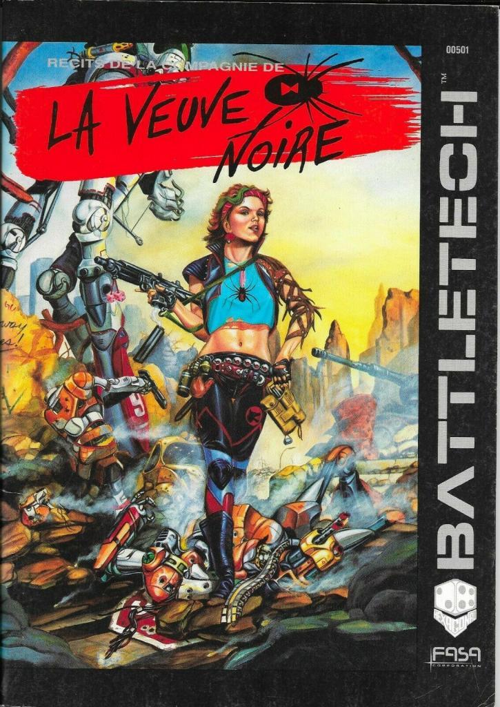Battletech - Récits de la Compagnie de la Veuve Noire