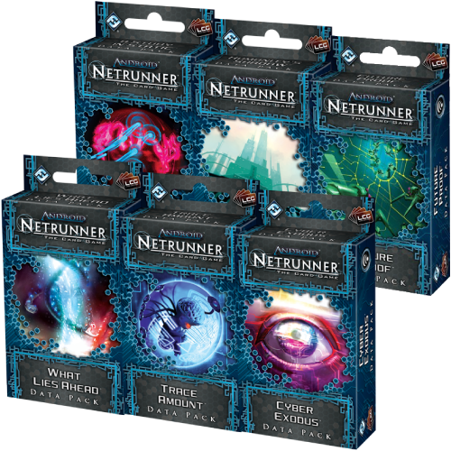 Android : Netrunner / Netrunner JCE - CYCLE II SPIN CYCLE (distorsions)