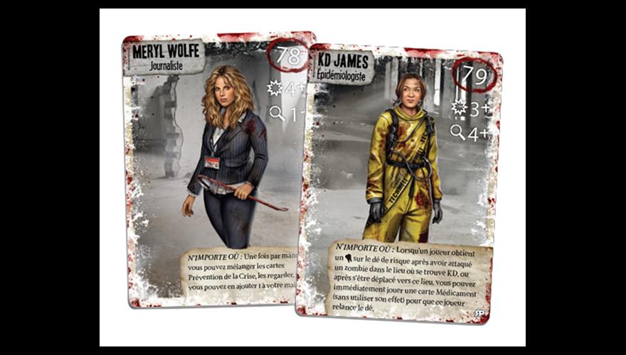 Dead Of Winter - Survivants exclusifs : Meryl Wolfe et Kd James