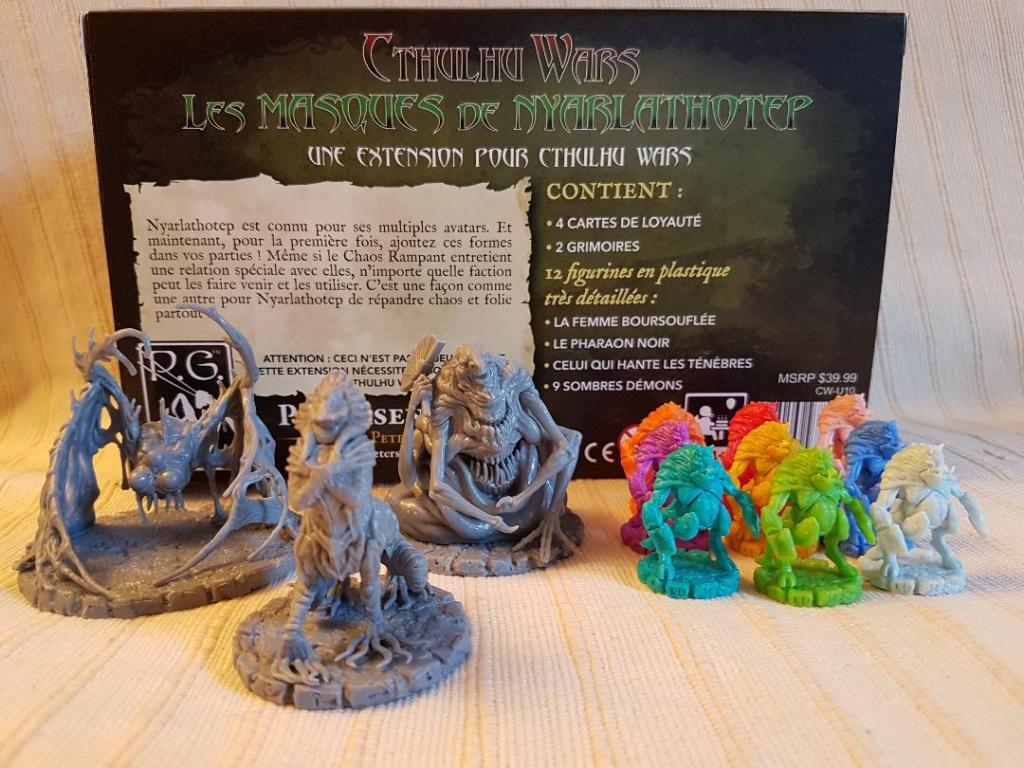 Cthulhu Wars - Les masques de Nyarlathotep