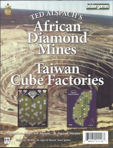 Age of Steam - African Diamond Mines / Taiwan Cube Factories