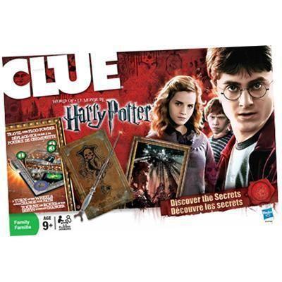 Cluedo - world of harry potter
