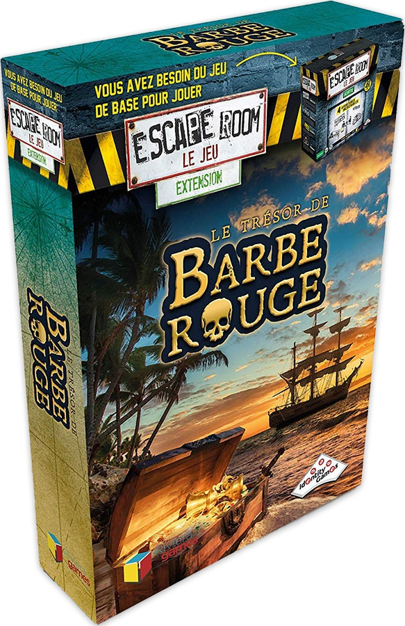 Escape room - le jeu - Le Trésor de Barbe Rouge