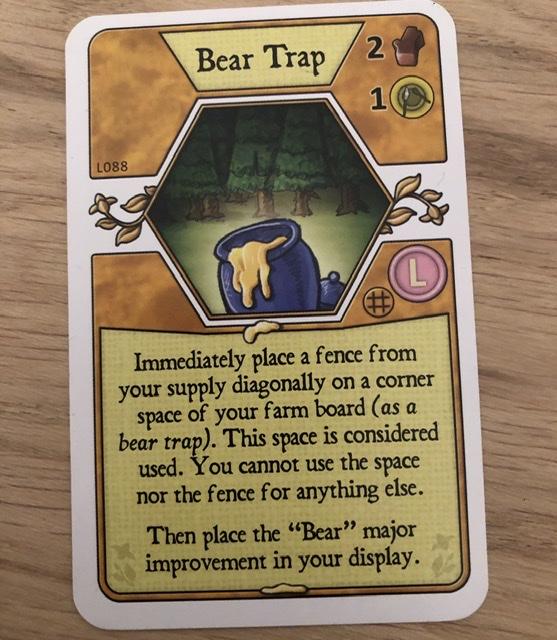 Agricola - Bear Trap