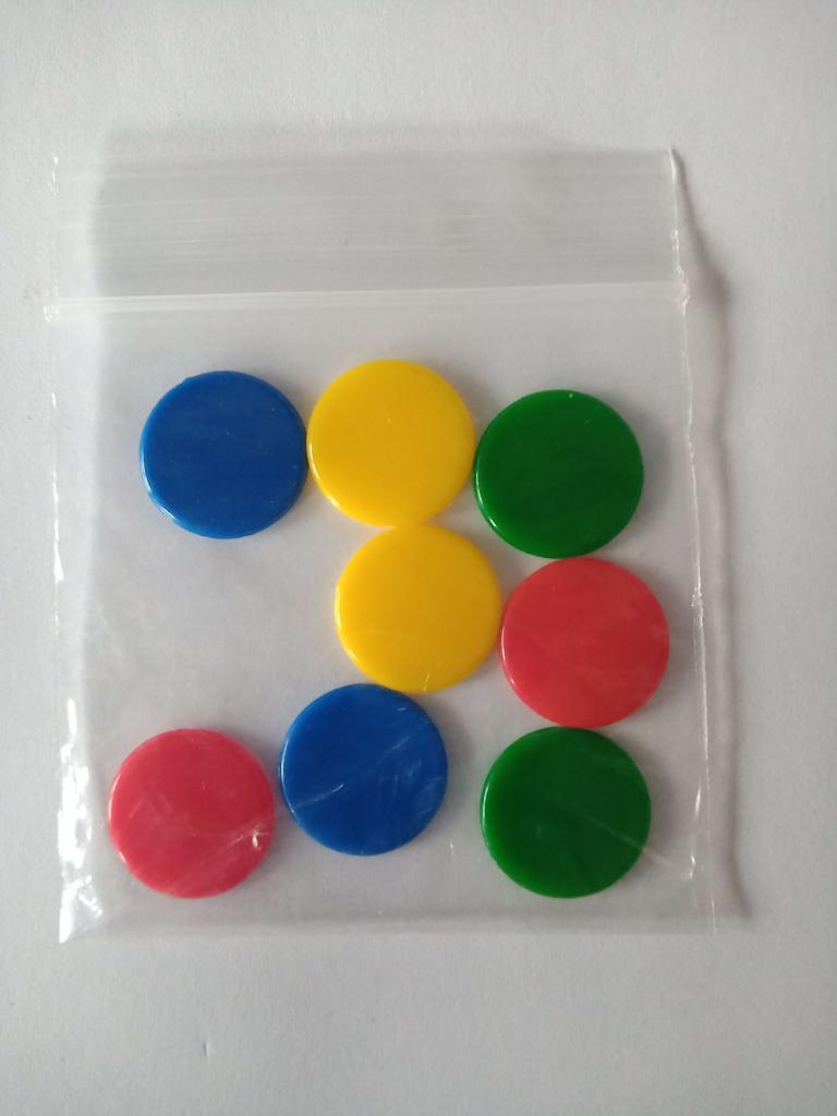 Architectura - 8 jetons-protection Plastique (origine)
