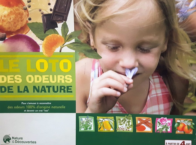 Loto des Odeurs de la Nature - Edition Nature & Découvertes