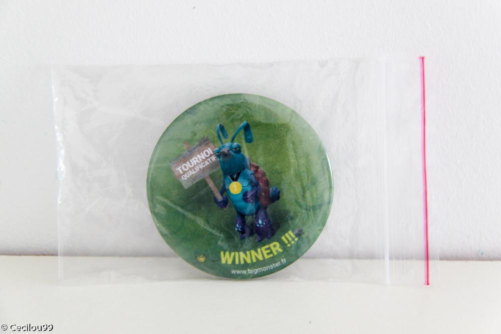 Big monster - Badge Winner Tournoi Qualificatif