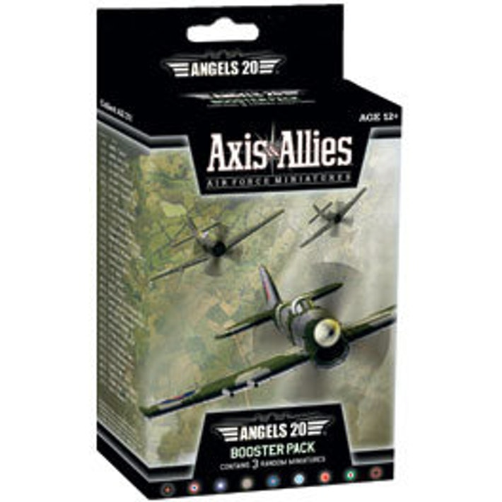 Axis & Allies Air Force Miniatures - ANGELS 20 Booster Pack