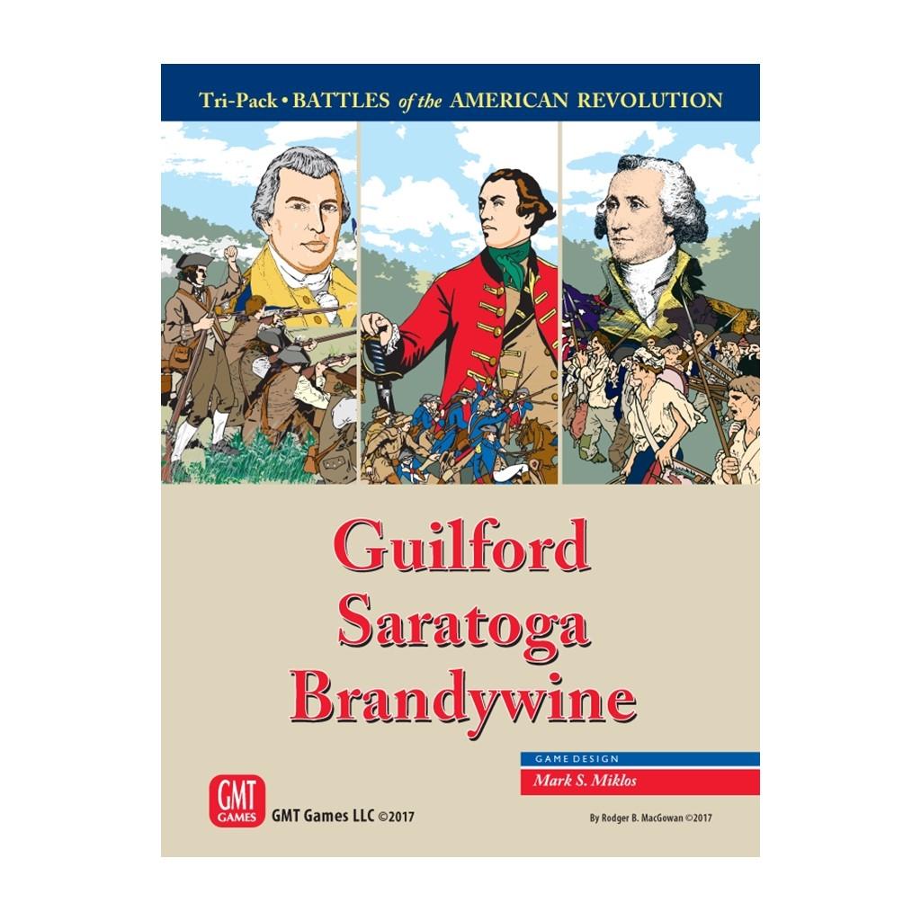 Battles of the American Revolution - Guilford, Saratoga, Brandywine