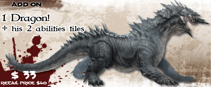Conan (Monolith) - Dragon