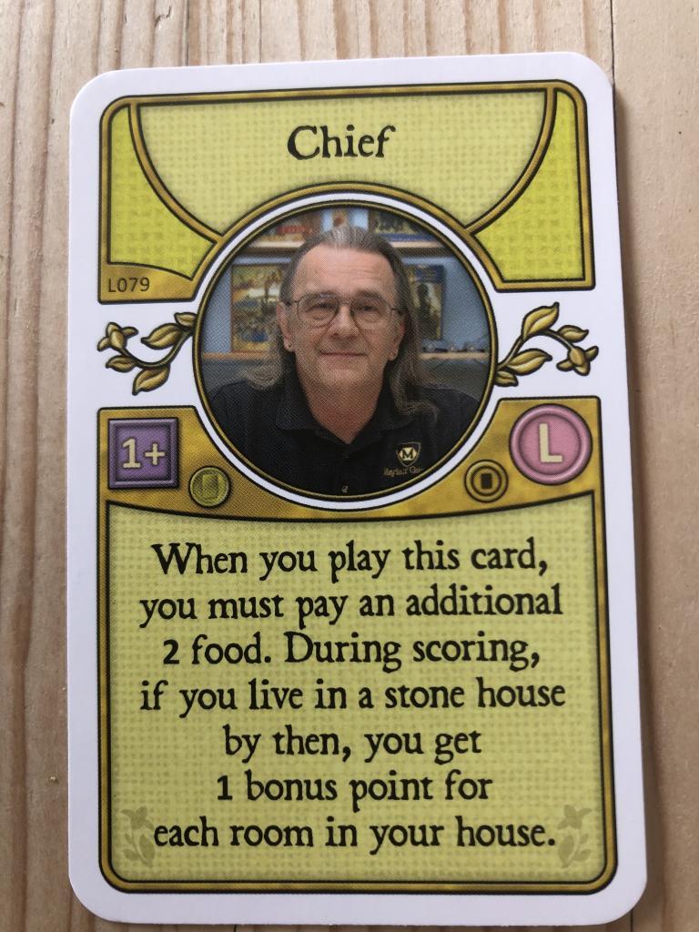 Agricola - carte Chief