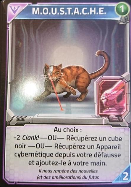 Clank! in! Space! - moustache