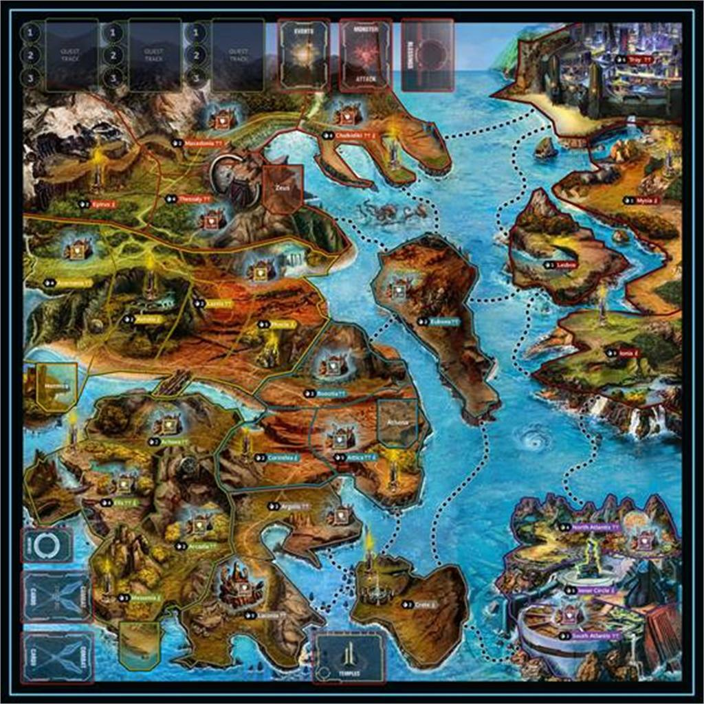 Lords of Hellas - Playmat (ENG)