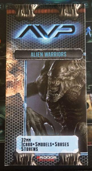 AVP The hunt begins 2nd edition - avp extension alien warriors