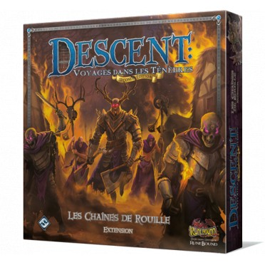 Descent (Seconde Édition) - Les chaines de rouille