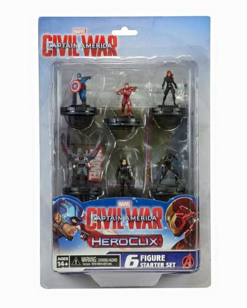 Heroclix Captain America: Civil War Starter Set