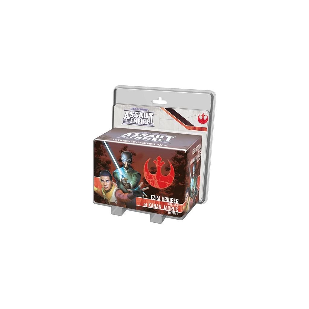 Star Wars - Assaut sur l'empire / Imperial Assault - Ezra Brigder et Kanan Jarrus