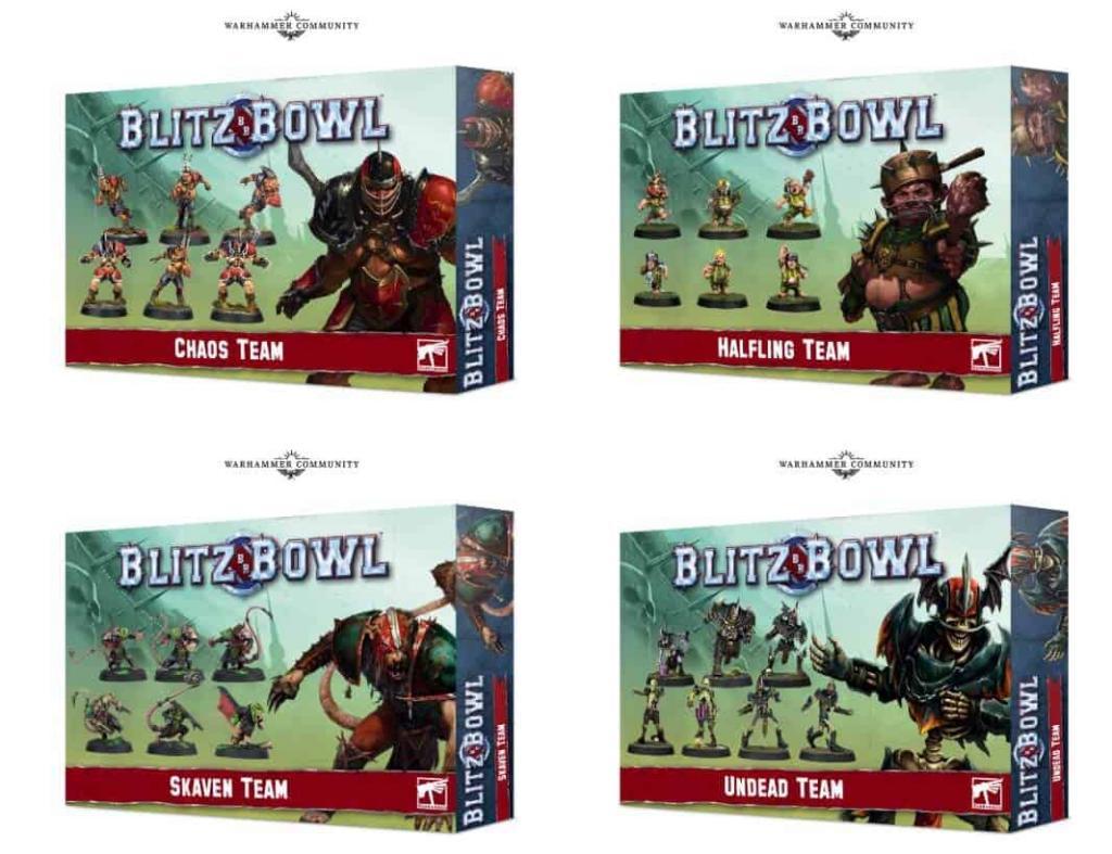 Blitz Bowl Teams