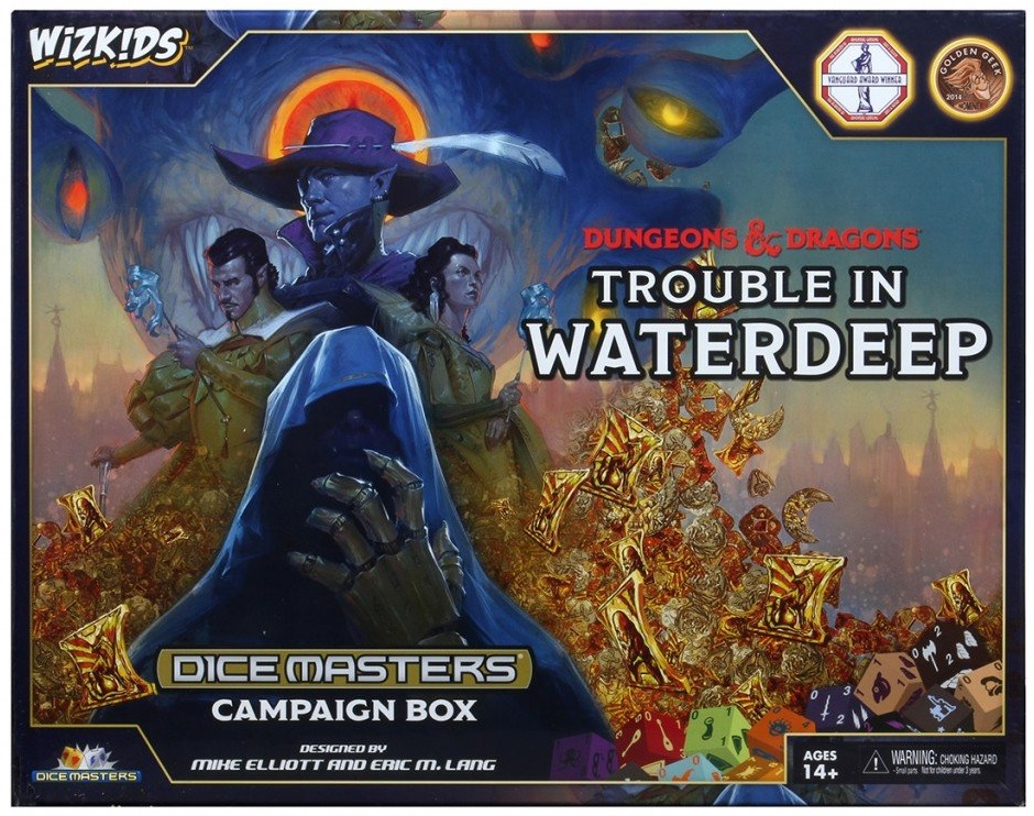 Dice Masters: Trouble in Waterdeep Campaign Box