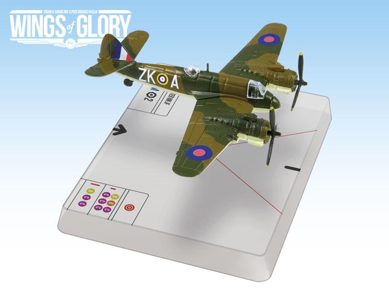 Wings Of Glory - Figurine Wgs201b - Beaufighter Mk.if (Herrick)