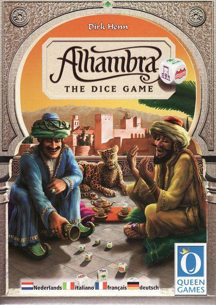 Alhambra : The Dice Game / Das Würfelspiel