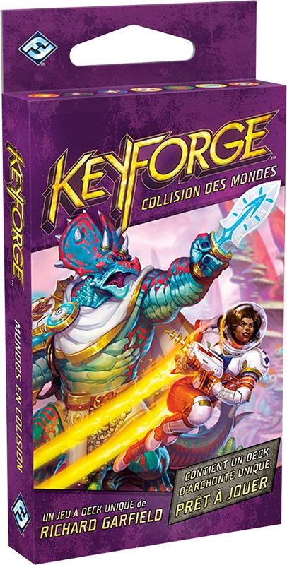 Keyforge - Deck Collision des Mondes