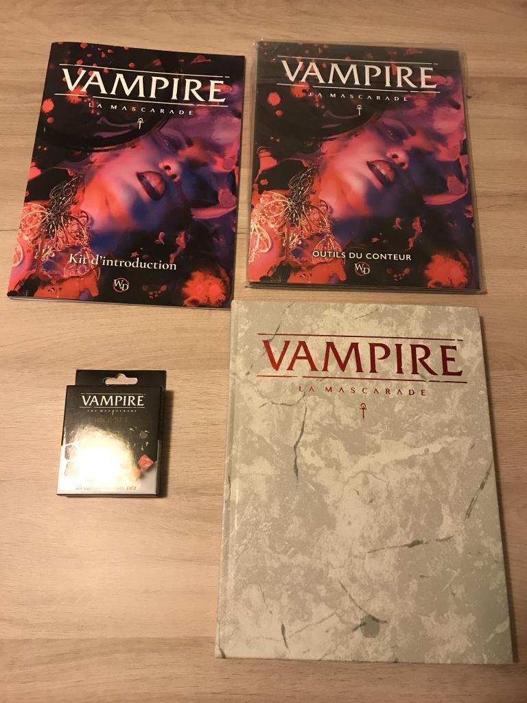 Vampire: la mascarade v5 - pack deluxe