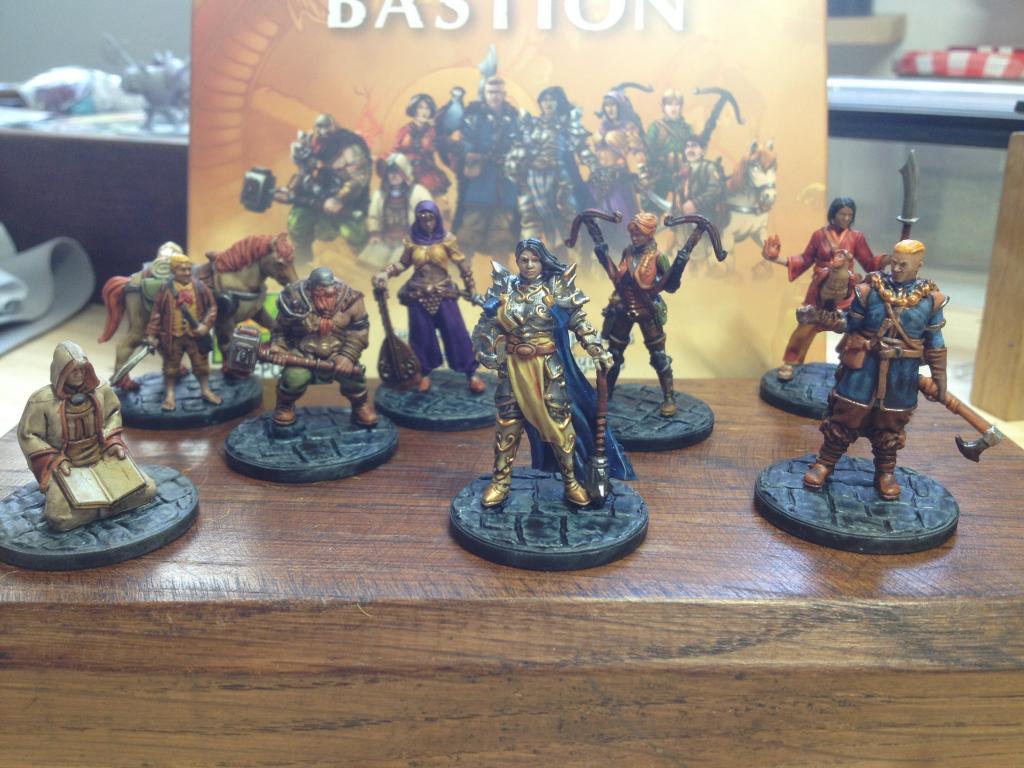 Last Bastion - Figurines