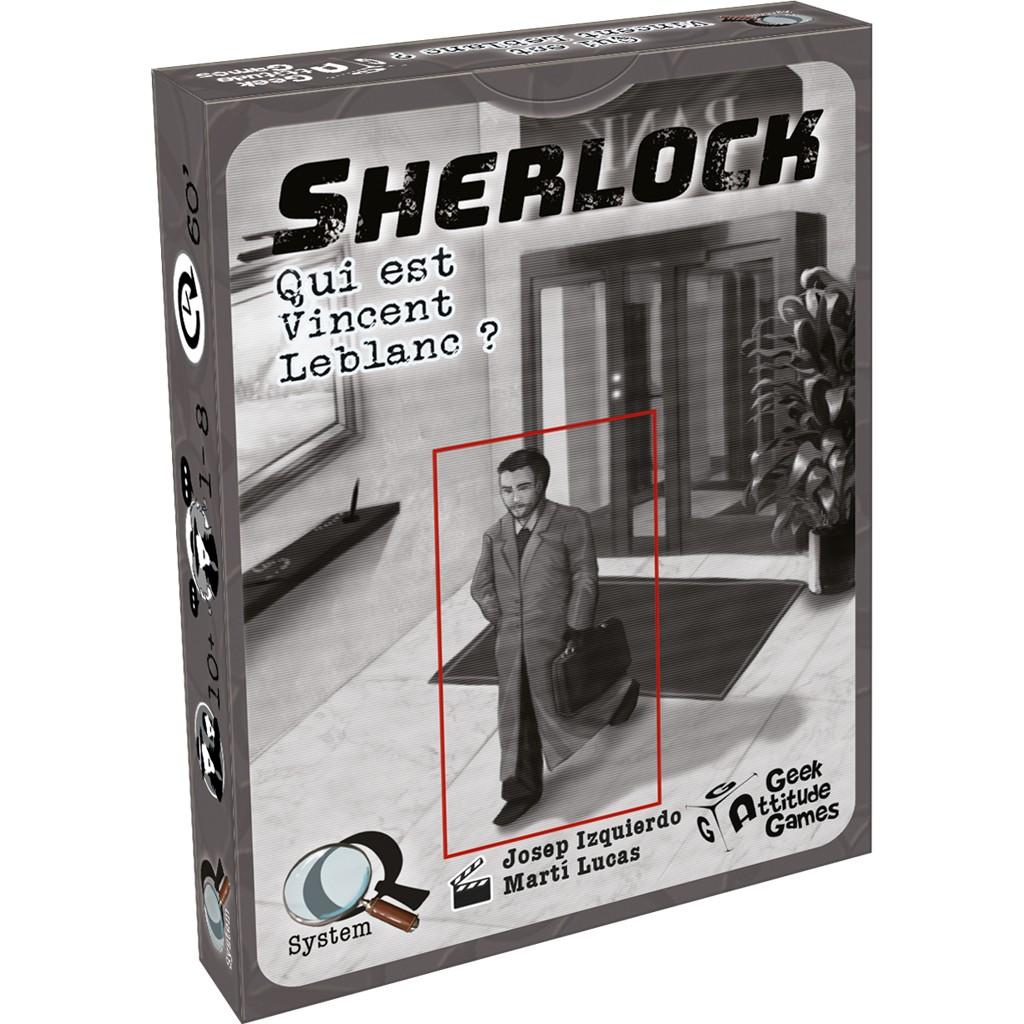 Sherlock : Qui est Vincent Leblanc ? (q-system)