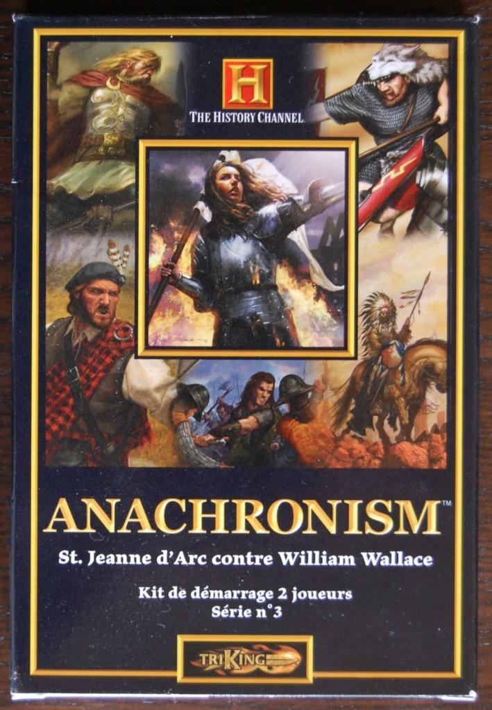 Anachronism - St. Jeanne d'arc contre William Wallace