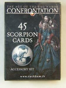 Confrontation - 45 scorpion cards