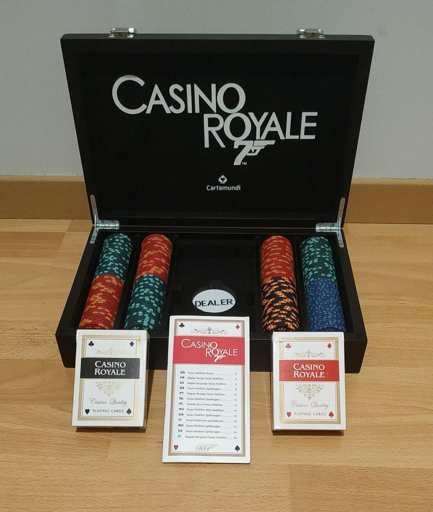 "Valise de poker ""Casino Royale 007"""