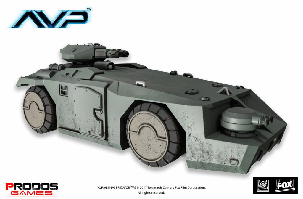 AVP The hunt begins 2nd edition - AVP M577 Armoured Personnel Carrier tank