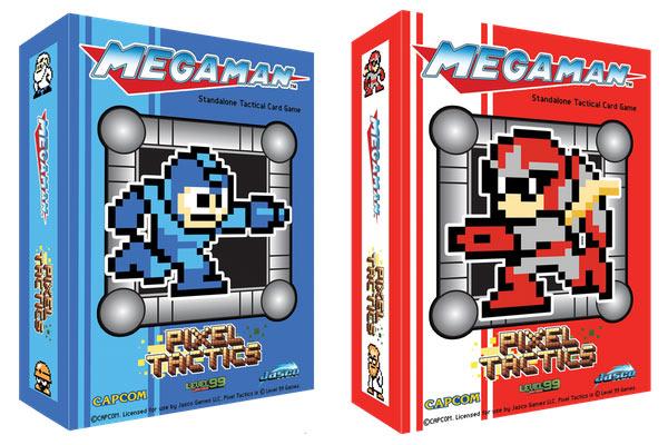 pixel tactics: mega man