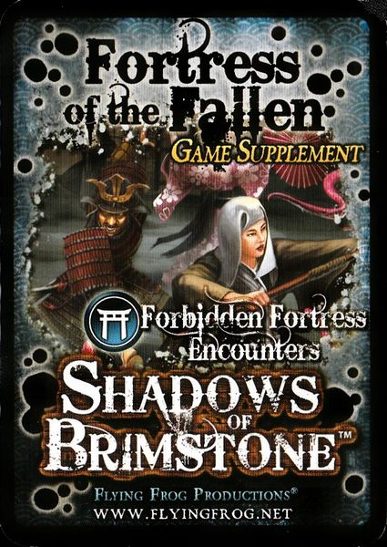 Shadows of brimstone Fortress of the fallen Game supplement