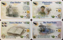 Alubari : A Nice Cup Of Tea - Alubari : 4 cartes goodies