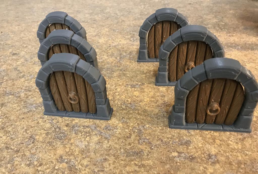 Arcadia Quest - Doors 3D - Portes en 3D