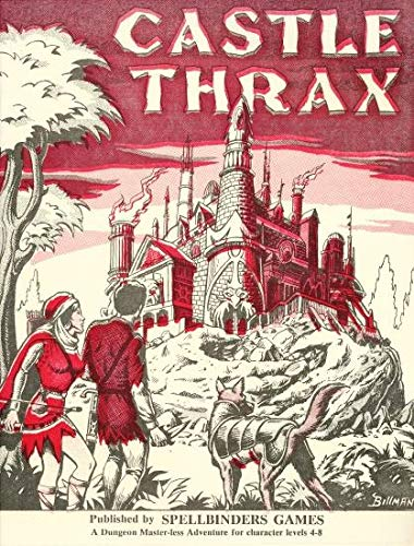 Advanced Dungeons & Dragons - 1st Edition - Castle Thrax