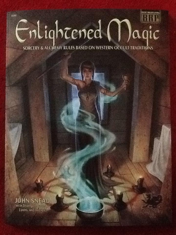 Basic roleplaying system - Enlightened magic
