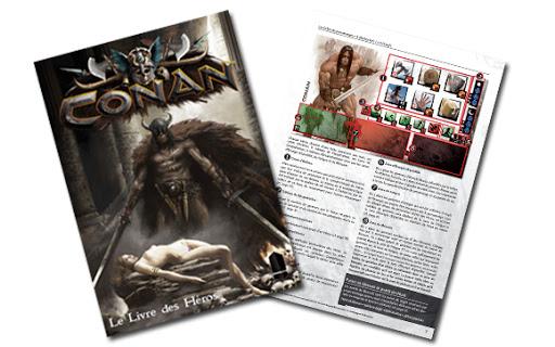 Conan (monolith) - Le Livre Des Héros