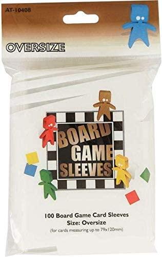 Arcane Tinmen 100 Oversize Board Game Sleeves (79 X 120)