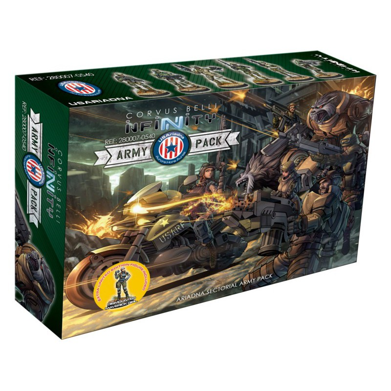 Infinity - Usariadna Army Pack