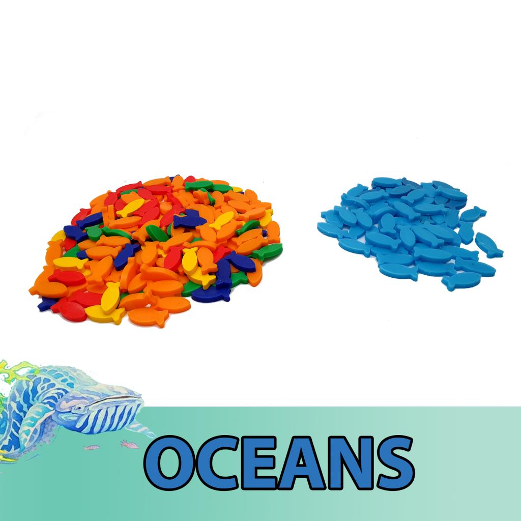 Oceans - Jetons Poisson