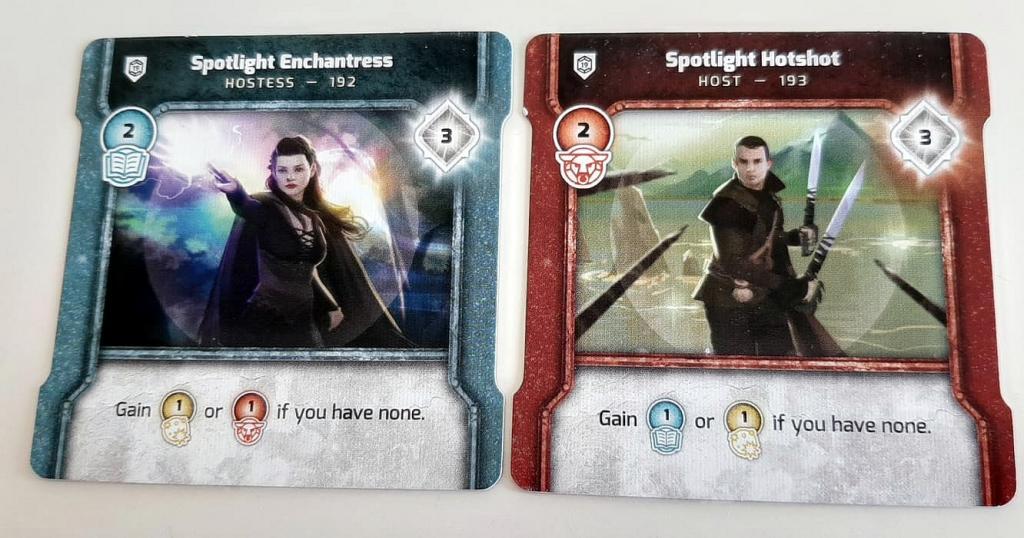 Vindication - Board Game Spotlight Promo Cards