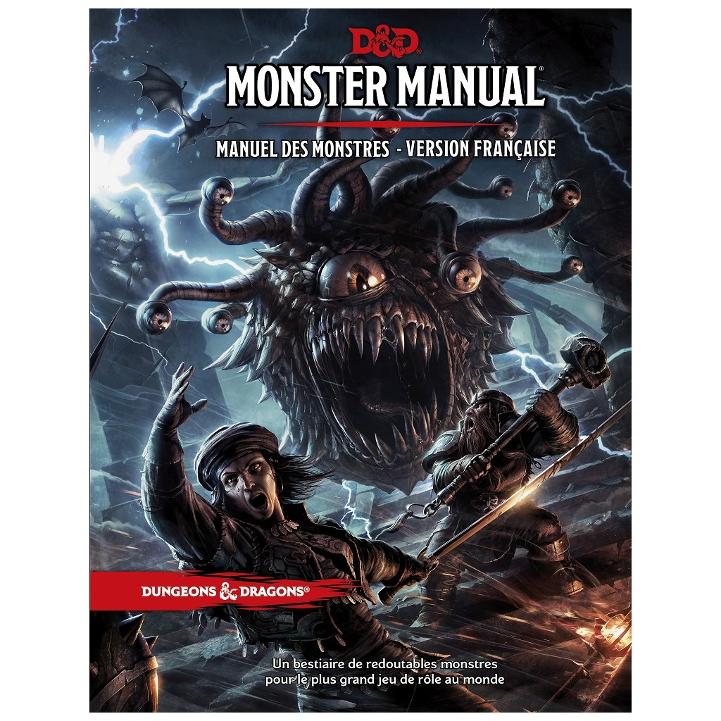 Dungeons & Dragons - 5th Edition - Monster Manual