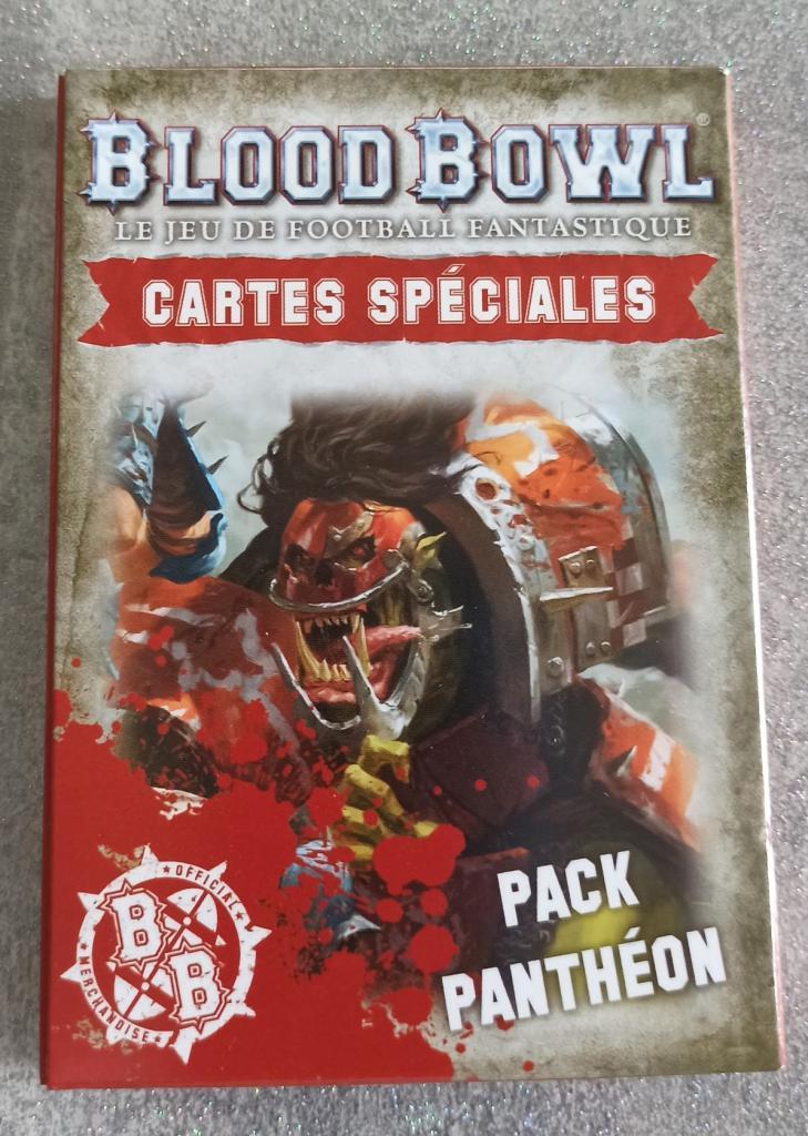 Blood Bowl 2016 - Cartes Spéciales Pack Pantheon