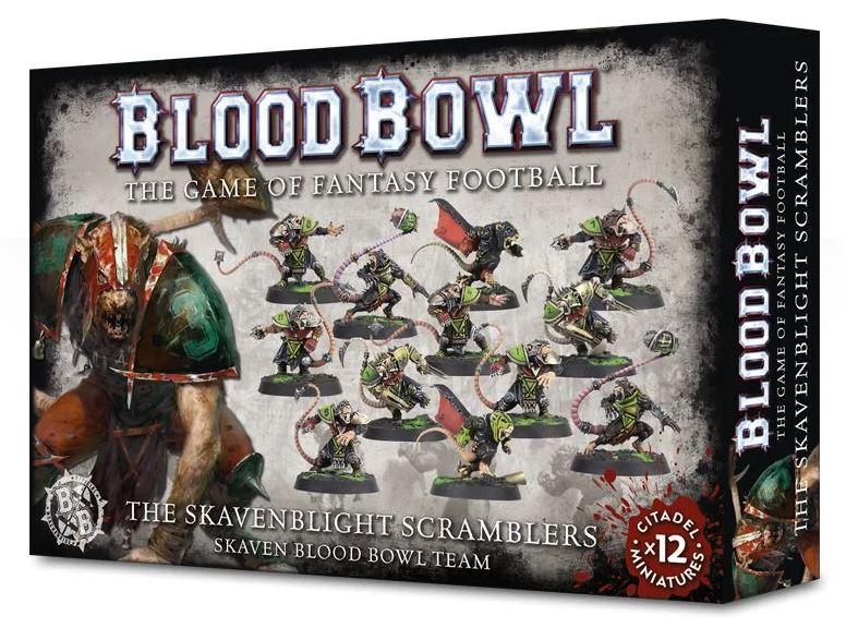 Blood Bowl 2016 - The Skavenblight Scramblers - Skaven Blood Bowl Team