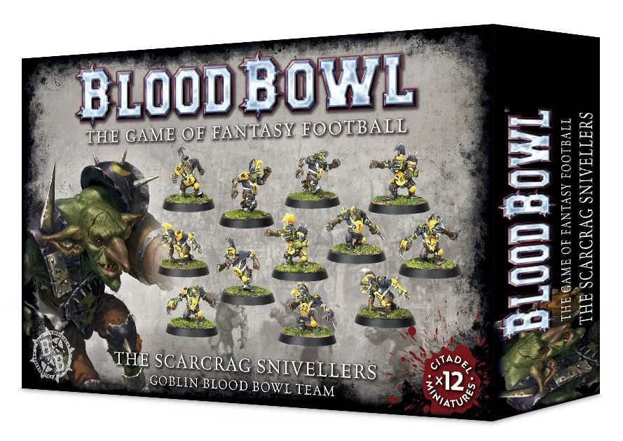 Blood Bowl 2016 - The Scarcrag Snivellers - Goblin Blood Bowl Team