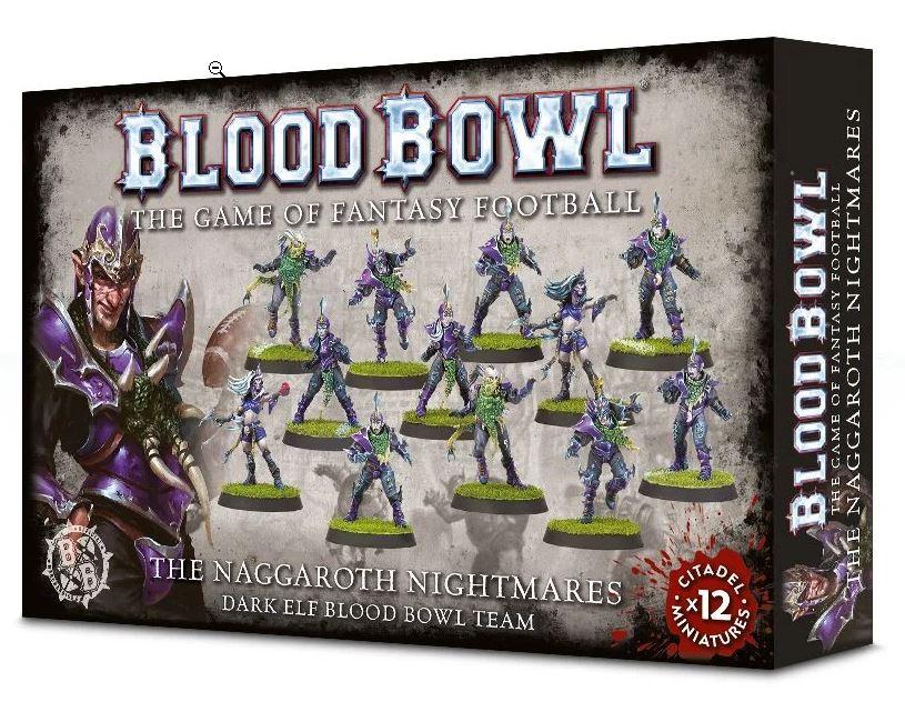 Blood Bowl 2016 - The Naggaroth Nightmares - Dark Elf Blood Bowl Team