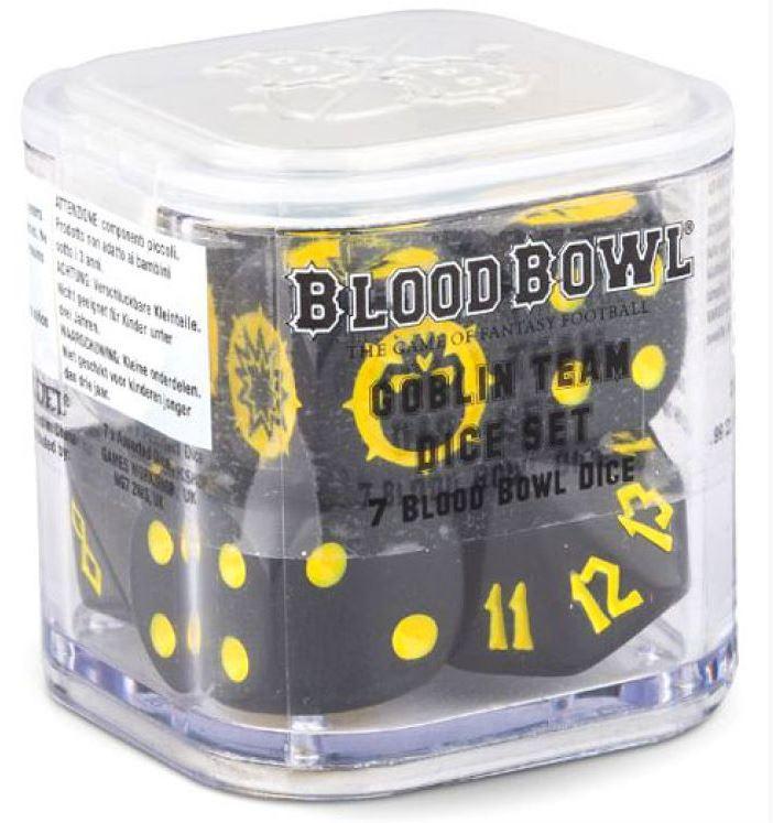 Blood Bowl 2016 - Goblin Team Dice Set